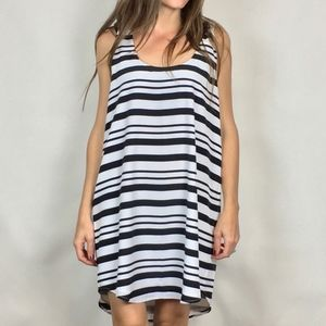 (BB DAKOTA) Rowland Striped Shift Dress